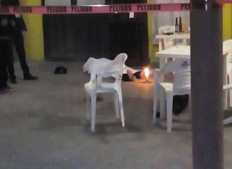 Investiga la PME homicidio de un hombre en un bar en Villa de Zaragoza