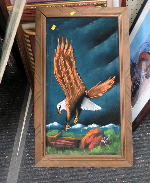 eagle on velvet