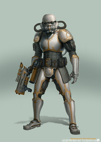 Steampunk Star Wars by Bjorn Hurri - Stormtrooper