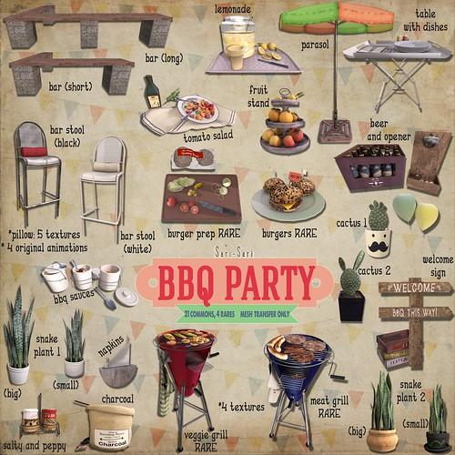 Sari-Sari - BBQ Party