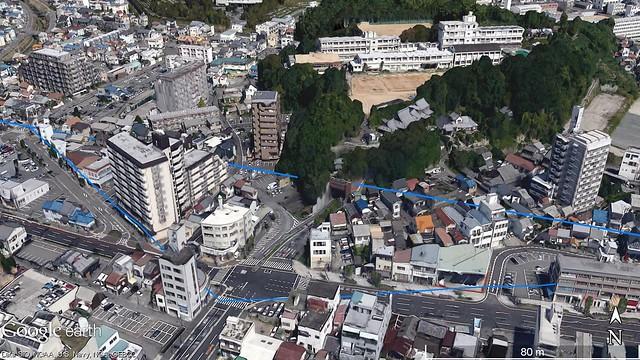 GoogleEarthで見た薬師山を南から見る.jpg)