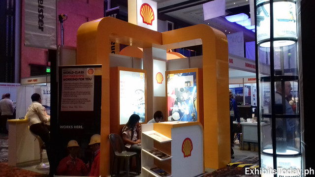 Shell Philippines Exhibit Booth
