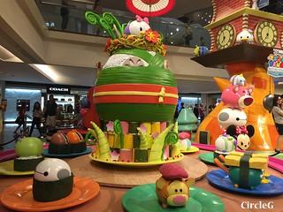 CIRCLEG 九龍塘 又一城 DISNEY TSUM TSUM 壽司 「Disney Tsum Tsum Walk N Roll Festival (4)