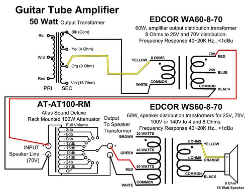 30 70 Volt Volume Control Wiring Diagram