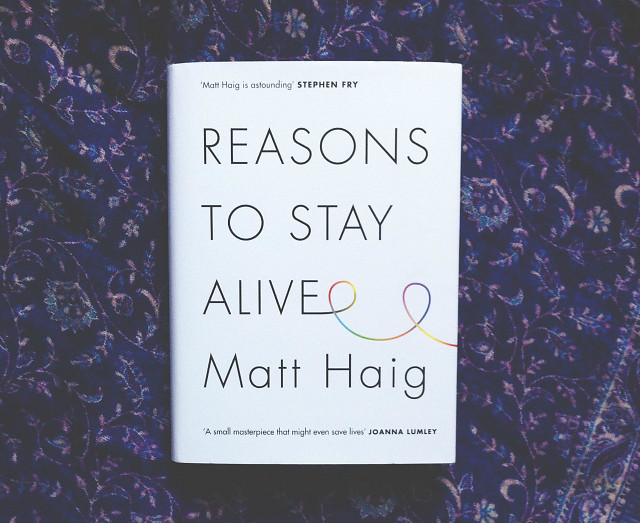 reasons to stay alive matt haig book haul