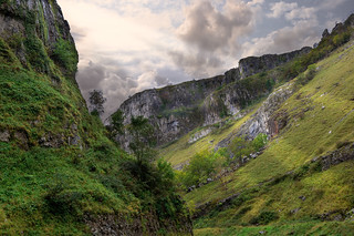 Cheddar Gorge with rays | by Steve Slater (used to be Wildlife Encounters)