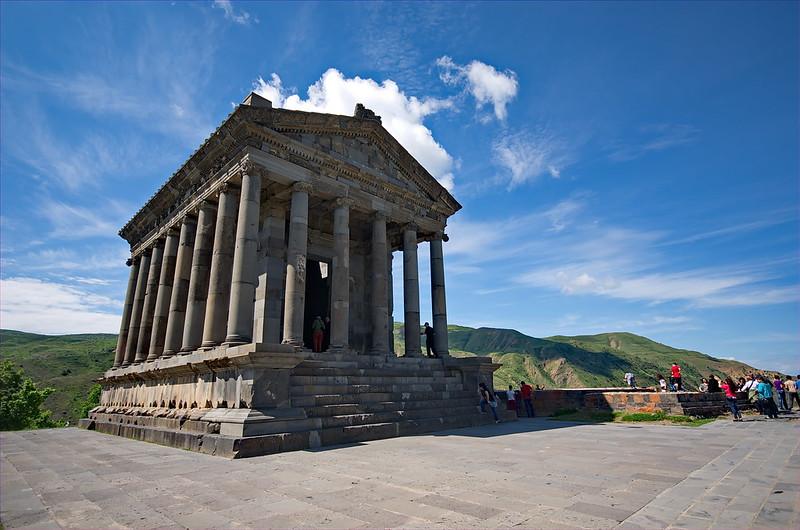 1979 - Kaukasus 2014 - Armenien - Sonnentempel Garni
