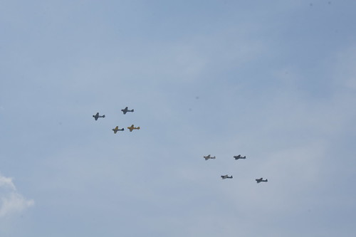 World War 2 Flyover