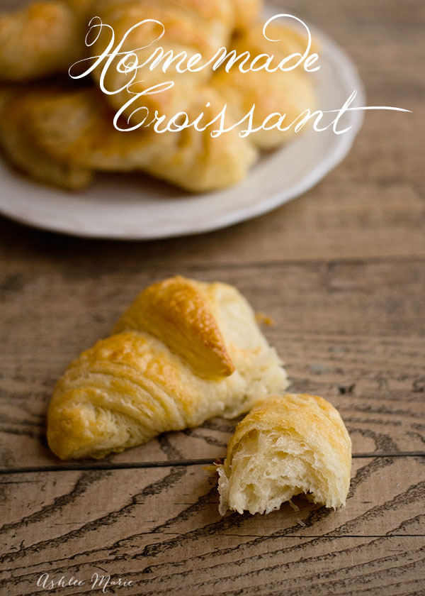 Everyone love buttery, flaky croissants and making them from scratch is not hard at all