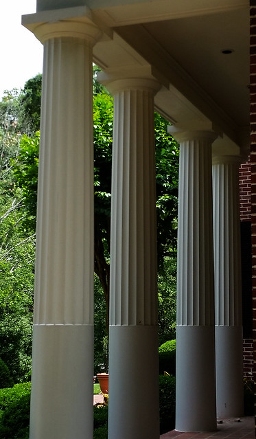 20150516_144032 2015-05-16 Neel Reid Andrews Drive Job 503 Alston House 1922-23 2-third fluted columns portico detail
