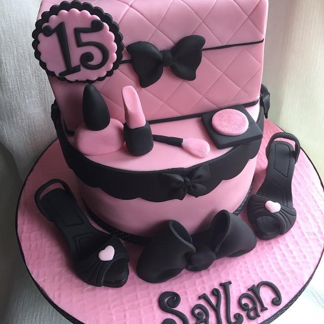Girls 15th Birthday Cakehappy Birthday Saylan Xx Flickr