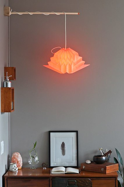 NANA ZOOLAN Blush Cloud Origami Lamp