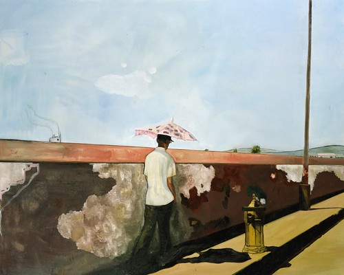 Peter Doig, Lapeyrouse Wall, 2004, Oil on canvas