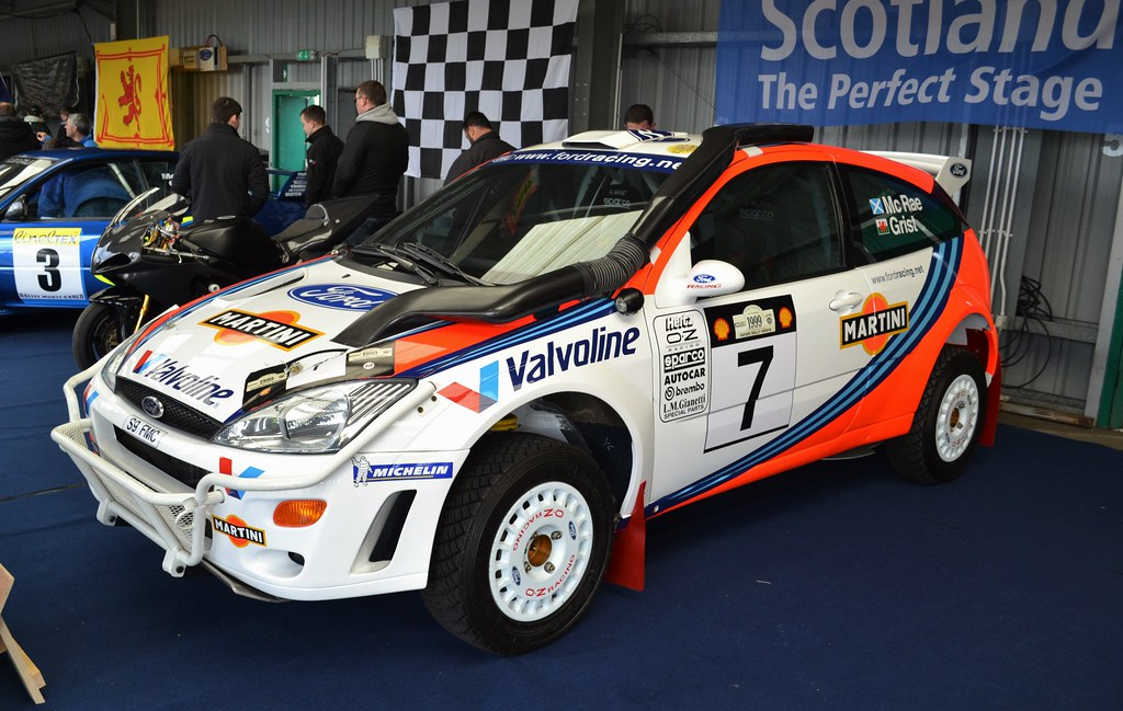 Ford Fiesta Wrc Rally Car For Sale