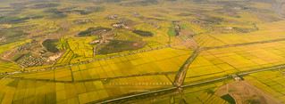 Aerial view of Pyongyang Farm | by reubenteo