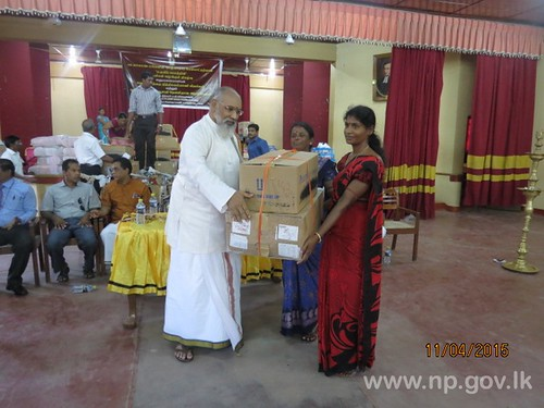 Assistance provided for Livelihood Development of North People
