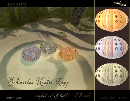 LD Urchin Lamp Fatpack