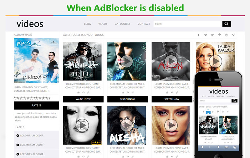 Force Adblocker to stop - 2