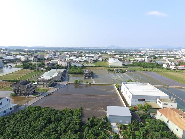 農地工廠如何解,民間要求政府提出對策。大圳路空拍  圖片提供:守護神岡聯盟