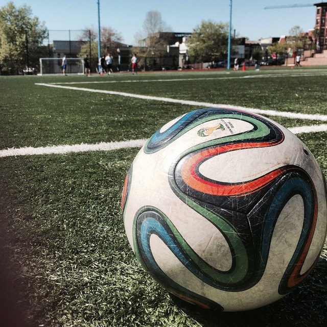 Saturday morning soccer