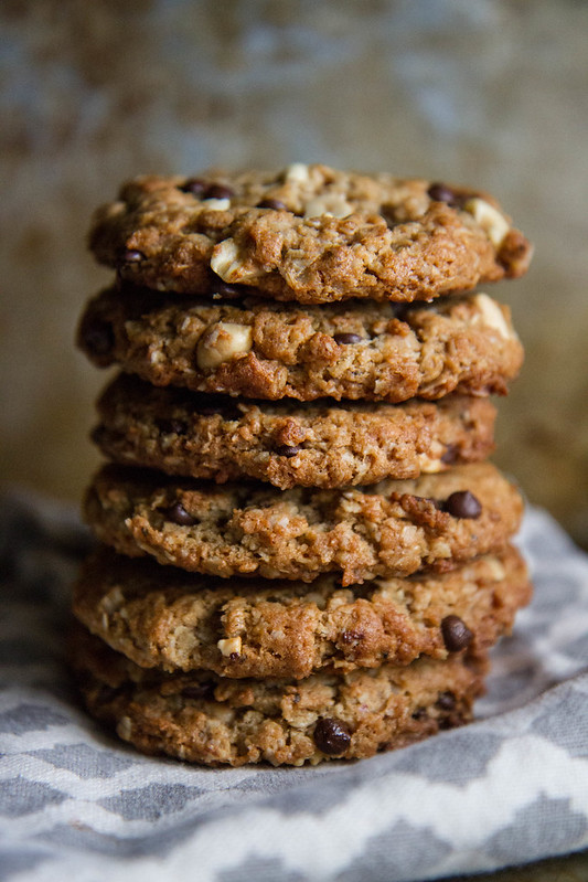 Peanut Butter Chocolate Monster Power Cookies- gluten free and vegan