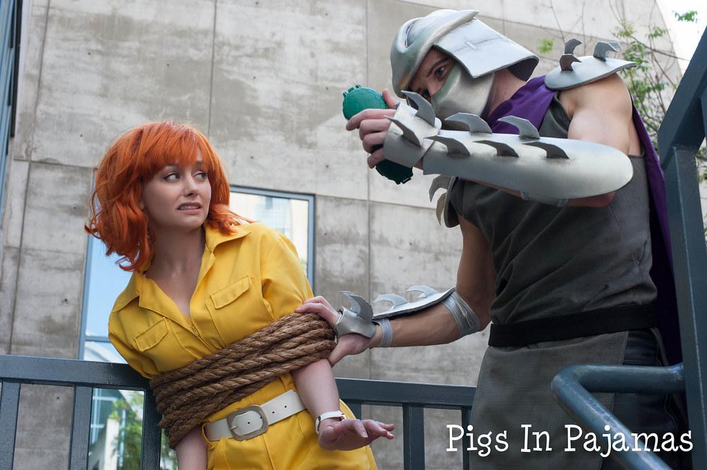 april o neil and shredder pigsinpajamas flickr