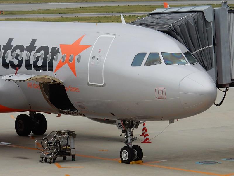 Jetstar 機首部分