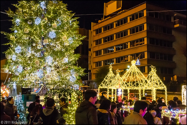 Christmas Light at Tokyo Tower