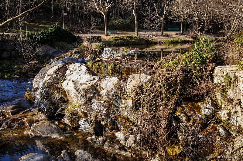 Cerca de la presa de La Farga