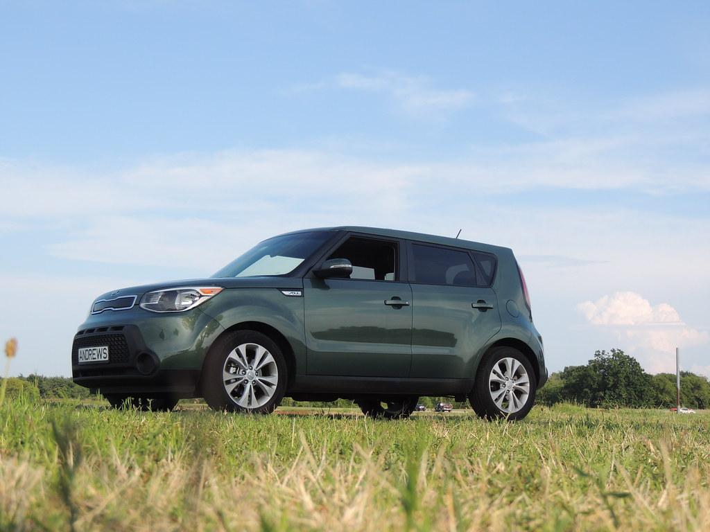 The Color Kale Green 2014 Kia Soul Andrew Penney
