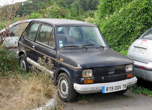 Fiat 126 Black | by Spottedlaurel