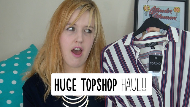 Huge Spring/Summer Topshop Haul!! | Sara Steele