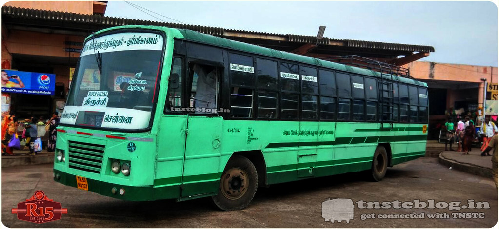 TN-55N-0727 Ex TNSTC Kumbakonam is now with SETC doing 164 UD Cumbum Chennai