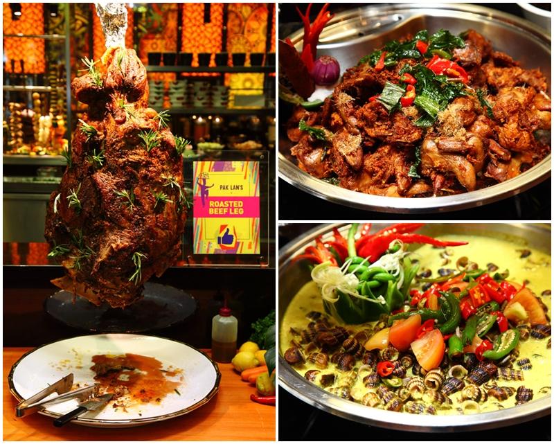 Roast Beef Siput Sedut Ayam Goreng
