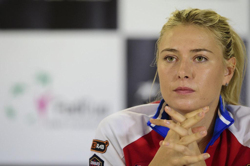 Maria Sharapova將於4月回歸網壇。(達志影像資料照)