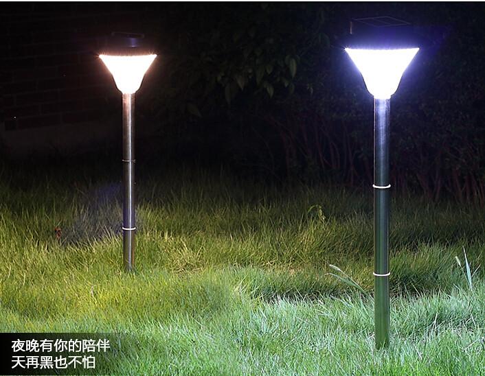 New 3 In 1 Solar Powered Outdoor Solar Garden Light 20led Lamp Waterproof Outdoor Garden Yard