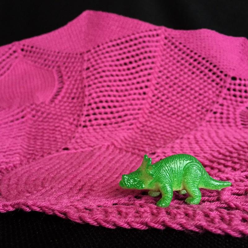 Triceratops Shawl