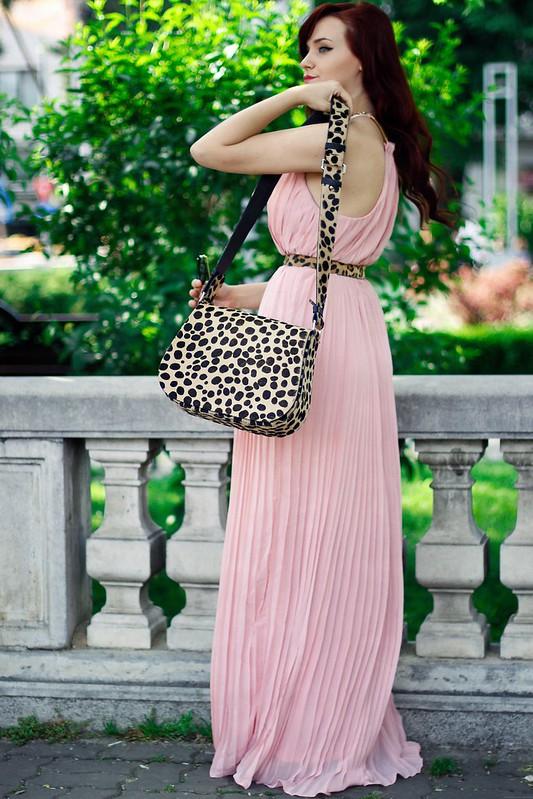 pink maxi dress6