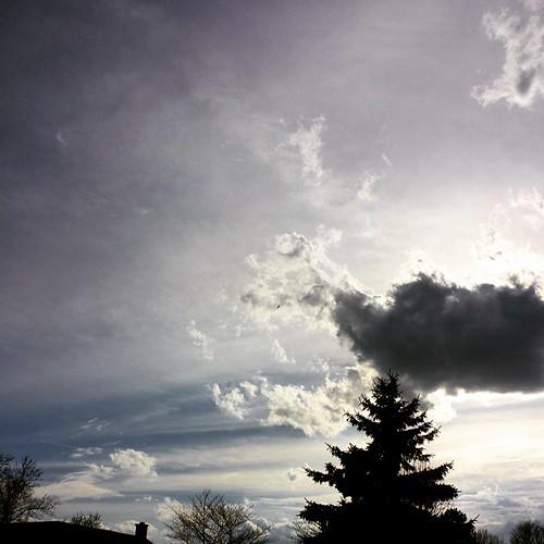 April sky