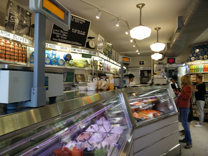 Russ & Daughters Inside NYC | packmeto.com