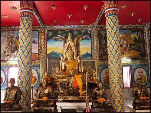 Inside Wat Phra Nang Sang