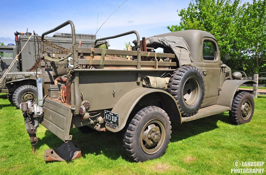 Dodge WC1 1-2 ton pickup truck #2 | 'Temple At War 15 ...