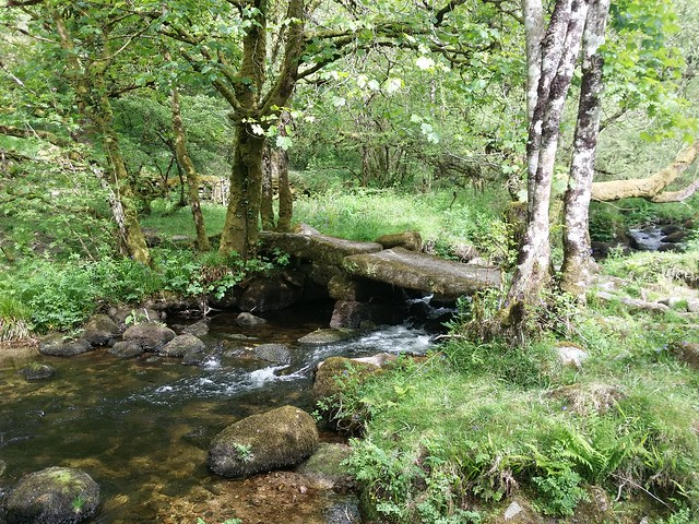 Clapper Bridge near Wallabrook Foot