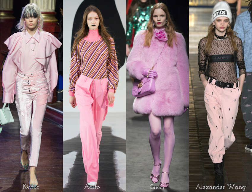 Trend Report: A/W 2016: Pink hues