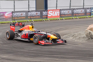 RB7 has a few laps of the 'Drift-zone' | by davewilliams000