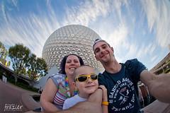 Epcot Family Selfie