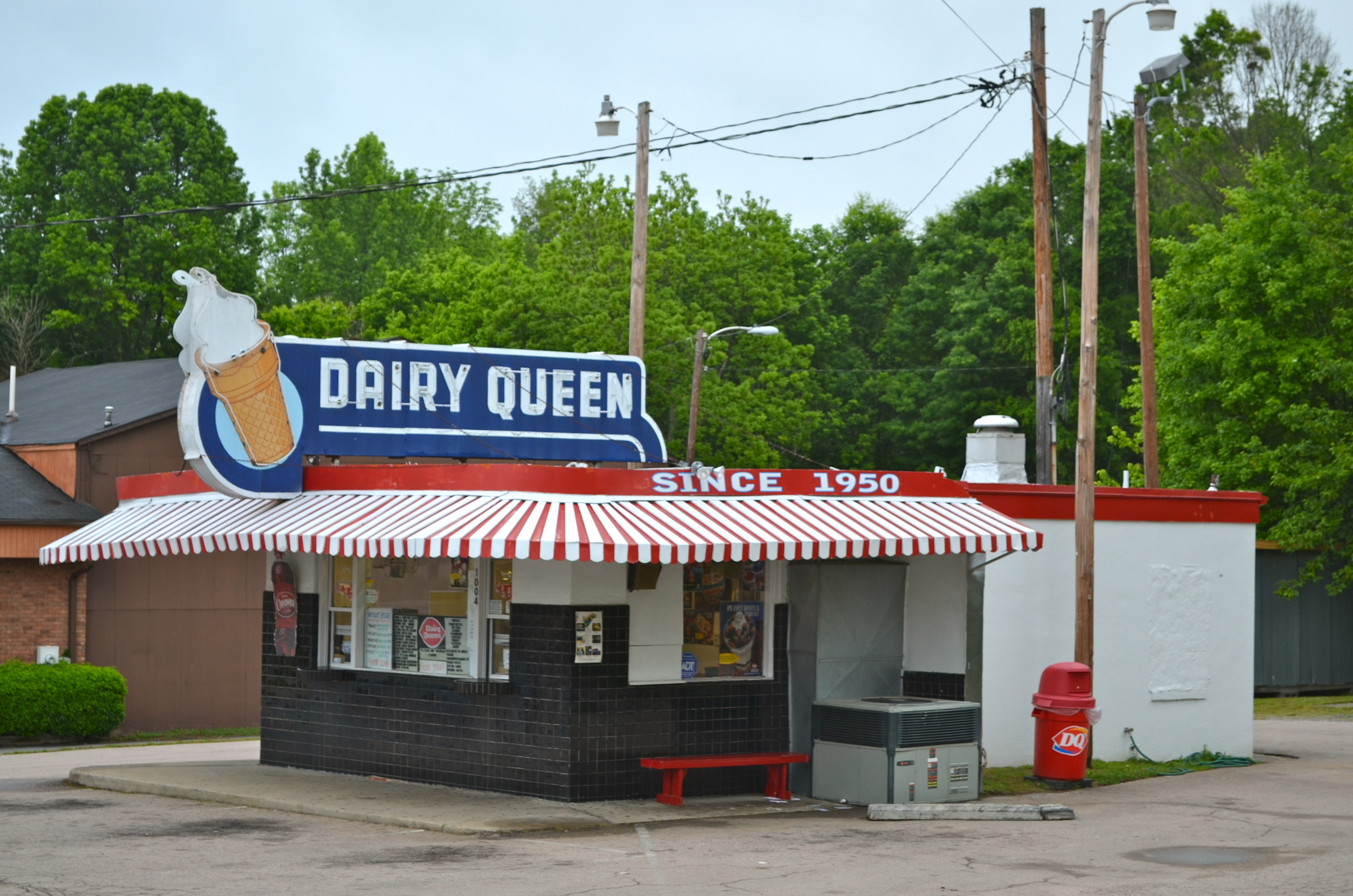 Dairy Queen - 1004 West Innes Street, Salisbury, North Carolina U.S.A. - May 10, 2015