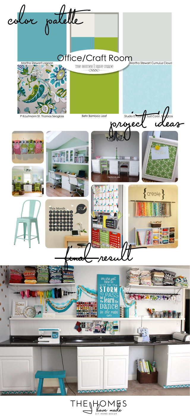 Inspiration vs Actual | Craft Room