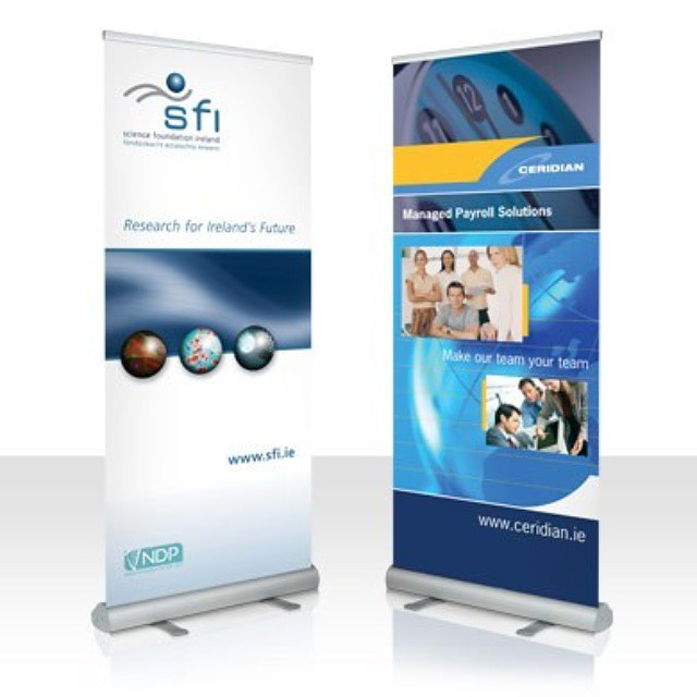Roll up Banner #advertising #rollup #banner #stand #promot… | Flickr