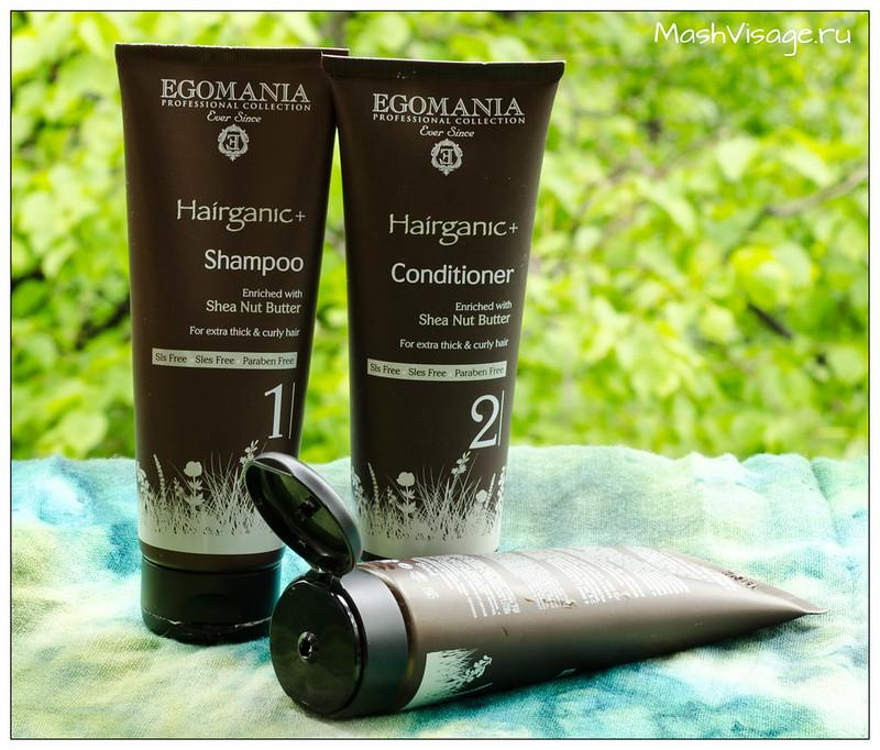 Отзыв на средства Hairganic+ от Egomania